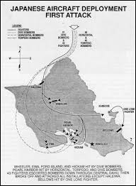 Pearl Harbor Map Hyperwar 7 December 1941 The Air Force Story Chapter 4
