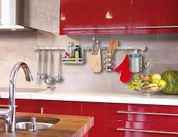 Red Kitchen Decor Ideas by Kitchen Accessories Decorating Ideas 1000 Ideas About Apartment