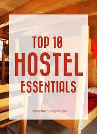 Bathroom Necessities Checklist Backpacking Checklist Top 10 Hostel Travel Essentials
