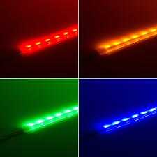 water proof led lights and outdoor rgb led custom length 12v