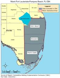 Palm Beach Florida Zip Code Map Cbic Round 1 Recompete Competitive Bidding Area Miami Fort