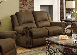 Soft Leather Sofas Sale Mort Umber Reclining Sofa Double Loveseat W And Fantastic Set With