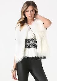 shop faux fur women u0027s vests