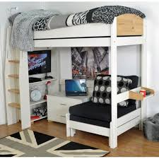 High Sleeper With Futon 9 Best Kids Beds Images On Pinterest 3 4 Beds Bed Frames And
