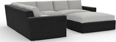 toja patio furniture turo 5 piece outdoor sectional sofa set with