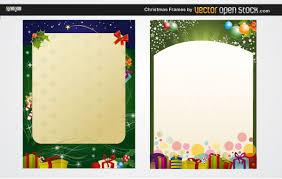free christmas letter templates download u2013 halloween u0026 holidays wizard
