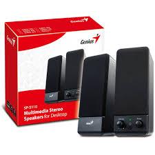 Attractive Computer Speakers Genius Sp S110 Wired 2 0 Stereo Computer Speaker System Walmart Com