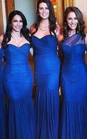 royal blue bridesmaid dresses royal length bridesmaid dress blue dresses for