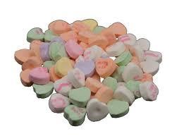 necco hearts necco small conversation hearts 5 lb bulk candy favorites