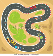 race track car race track stock images royalty free images vectors