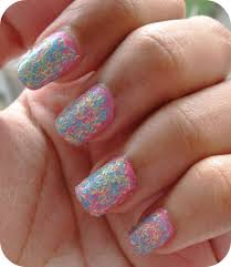 if you u0027re lazy about nail art try sally hansen fuzzy coat nail