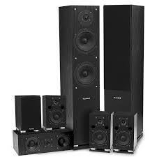 kenwood subwoofer home theater sxhtb surround sound home theater speaker system fluance