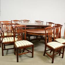 Regency Dining Table And Chairs Search All Lots Skinner Auctioneers