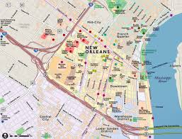 Maps Of New Orleans by Red Paw Technologies New Orleans Amenities