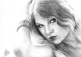 taylor swift pencil sketch by boudi alsayed on deviantart