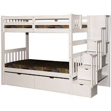Bunk Beds  Lofts For Adults  Kids Bunks With Stairs Scanica - Double loft bunk beds