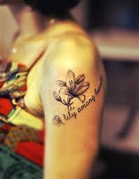 arm tattoos for women flower tattoo lily tattoo love