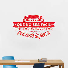 decorative viny wall stickers spanish famous quote inspiring decorative viny wall stickers spanish famous quote inspiring phrase wall decals sticker home decor for living room decoration in wall stickers from home