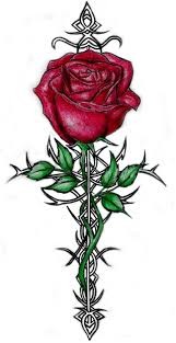 Tribal Tattoos With Roses - tribal tattoos cool tattoos bonbaden