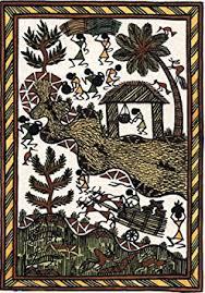 Warli Art Simple Designs Cheap Simple Warli Painting Designs Find Simple Warli Painting