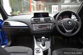 bmw 125i interior bmw 1 series f20 launched in malaysia 116i 118i sport