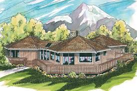 ranch house plans alder creek 10 589 associated designs free contemporary house plans encino 10 016 associated designs hexagon in meters contemporary house plan encino 10