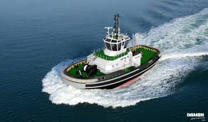 serco procures new damen tug to support royal navy aircraft carriers