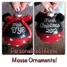 personalized painted mickey mouse or minnie
