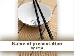 chopsticks powerpoint templates