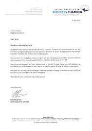 Business Letter Thank You by Thank You Mandela Day 2016 Bagshaw