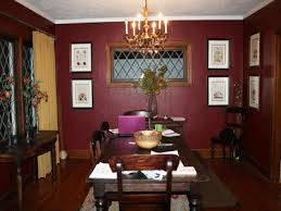 Dining Room Paintings by Interior Decorating Paint Colors And Furnishing Vintage Wine Hue