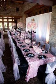 Baby Shower Chair Covers Ooh La La Pink Parisian Themed Flower Fantasy Luxury Baby Shower