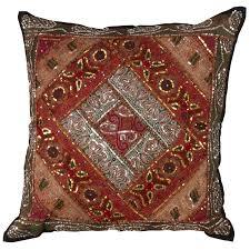 rona brown kitchen cabinets rona handmade sari sitara design cotton pillow