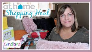 The Home Decor Superstore by At Home Shopping Haul For Our New House Youtube