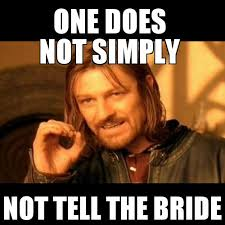 don t tell the bride funny