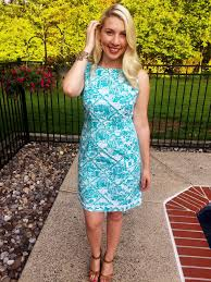 Thrift Store Find Lilly Pulitzer Shift Dress U2013 The Daily Soirée