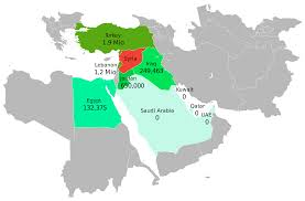 Middle East Map Countries by Syria Country In The Middle East