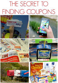 where to find coupons resources to find the coupons you need