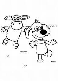 timmy wander shaun sheep coloring color luna