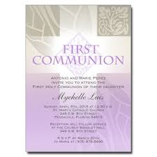 communion invitations for girl pastel girl cross communion invitation pricing options