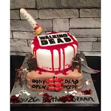 walking dead cake ideas walking dead birthday cake best 25 walking dead birthday cake