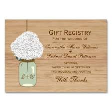 wedding gift registry gift registry cards zoro blaszczak co