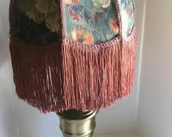 antique lamp shade etsy