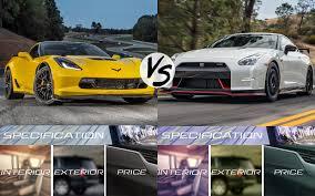 nissan gtr vs corvette z06 link