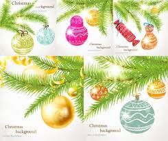 vector christmas tree ornaments free vector download 17 725 free