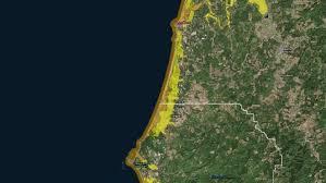 Oregon Tsunami Map by Tsunami Threatens Senior Facilities On Oregon Coast Kgw Com