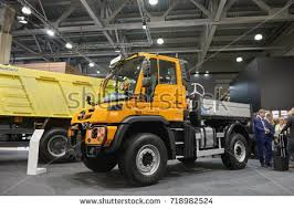 mercedes truck unimog moscow sep 5 2017 view on stock photo 718982524