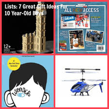 lists 7 great gift ideas for 10 year old boys the suburban