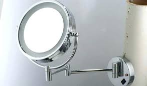 wall mounted hardwired lighted makeup mirror electric lighted makeup mirror electric makeup mirror with lighted