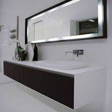 Lighted Bathroom Mirror by Beautiful Lighted Large Bathroom Mirror Frame Design Superb And